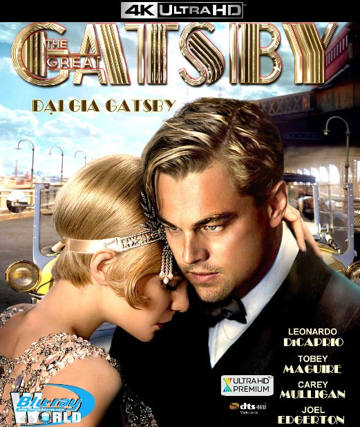 4KUHD-054.The Great Gatsby - ĐẠI GIA GATSBY 4K-66G (DTS-HD MA 5.1)