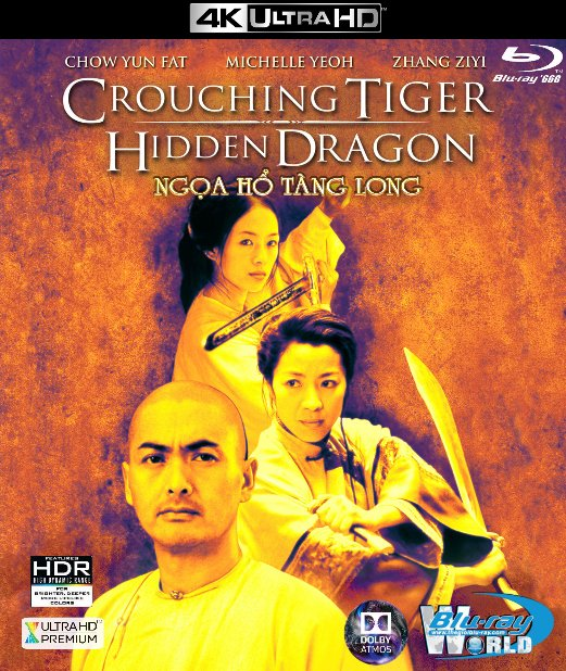 4KUHD-077. Crouching Tiger Hidden Dragon - Ngọa Hổ Tàng Long 4K-66G (TRUE- HD 7.1 DOLBY ATMOS)