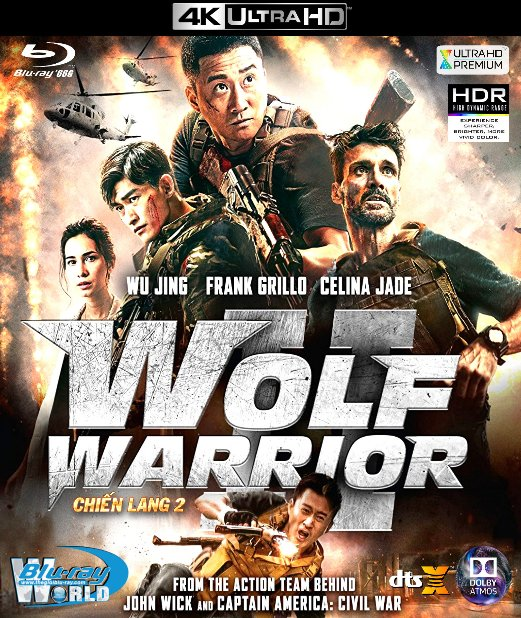 4KUHD-090. Wolf Warriors 2 - Chiến Lang 2 4K-66G (TRUE- HD 7.1 DOLBY ATMOS)