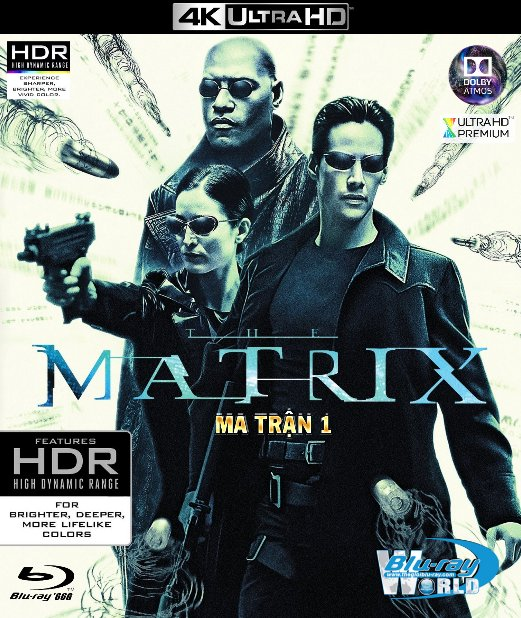 4KUHD-170. Matrix 1999 - Ma Trận 1 4K-66G (TRUE- HD 7.1 DOLBY ATMOS)