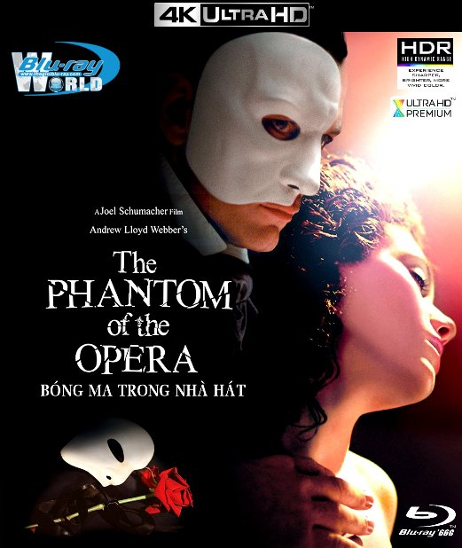 4KUHD-228. The Phantom Of The Opera -  Bóng Ma Nhà Hát 4K-66G (PCM 5.1)