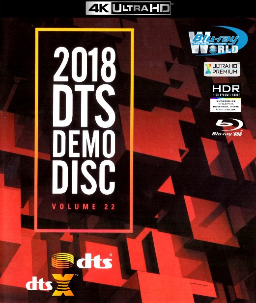 4KUHD-251.DTS Demo Disc Vol.22 2018 4K-66G (DTS:X 7.1)