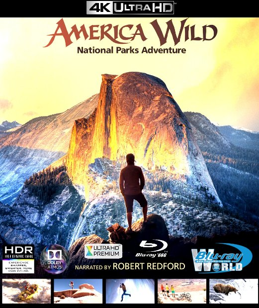 4KUHD-265. America Wild: National Parks Adventure 4K-66G (TRUE- HD 7.1 DOLBY ATMOS)