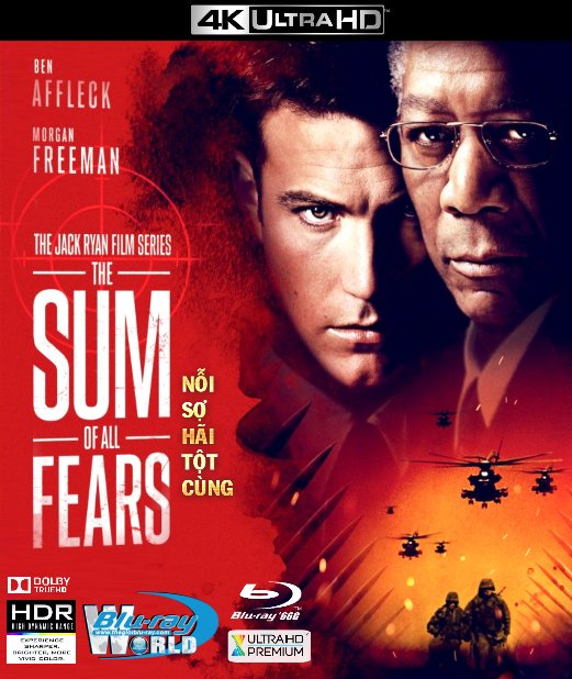 4KUHD-272. The Sum Of All Fears - Nỗi Sợ Hãi Tột Cùng 4K-66G (DOLBY TRUE-HD 5.1)