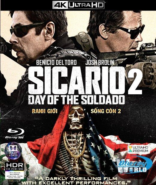 4KUHD-283  Sicario 2 : Day Of The Soldado 2018 - Ranh Giới Sống Còn