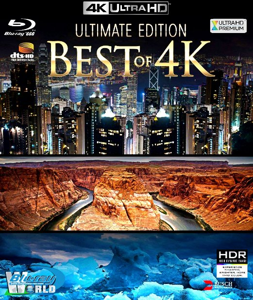 4KUHD-312. Ultimate Edition Best of 4K 2 4K-66G (DTS-HD MA 5.1)