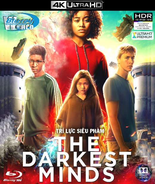 4KUHD-320. The Darkest Minds 2018 - Trí Lực Siêu Phàm 4K-66G (TRUE- HD 7.1 DOLBY ATMOS)