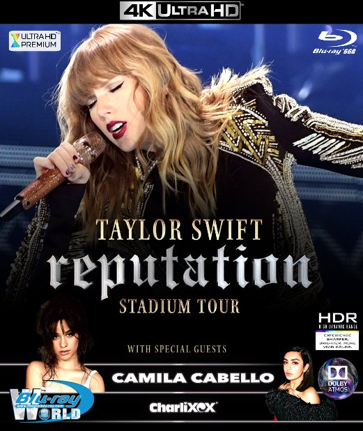 4KUHD-353. Taylor Swift - Reputation Stadium Tour 2018 4K-66G (TRUE- HD 7.1 DOLBY ATMOS)