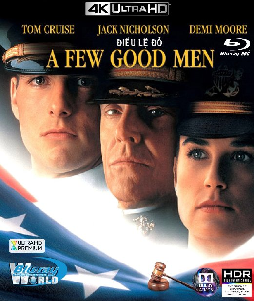 4KUHD-367. A Few Good Men - ĐIỀU LỆ ĐỎ 4K-66G (TRUE- HD 7.1 DOLBY ATMOS)