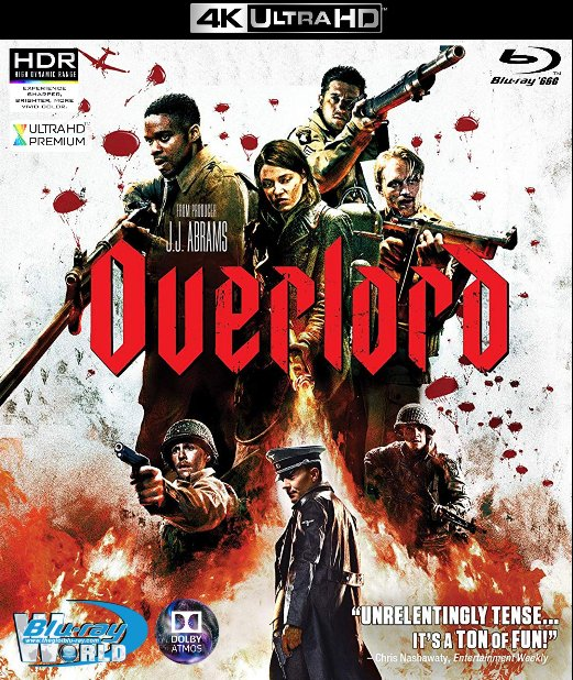 4KUHD-371. Overlord 2018 - Chiến Dịch Overlord 4K-66G (TRUE- HD 7.1 DOLBY ATMOS)
