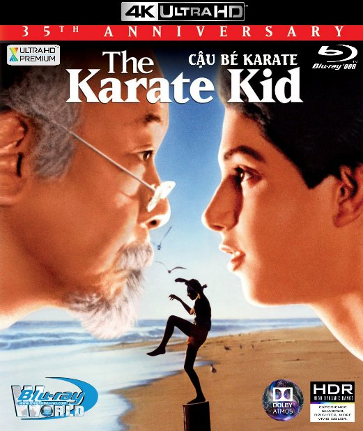 4KUHD-402. Karate Kid 1984 - Cậu Bé Karate 4K-66G (TRUE- HD 7.1 DOLBY ATMOS)