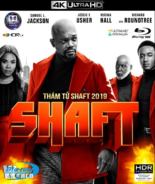 4KUHD-494. Shaft II 2019 - Thám Tử Shaft II 4K-66G (TRUE- HD 7.1 DOLBY ATMOS - HDR 10+)