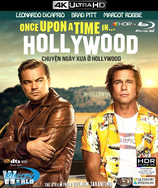 4KUHD-524. Once Upon a Time In Hollywood 2019 - Chuyện Ngày Xưa Ở... Hollywood 4K-66G (DTS-HD MA 7.1 - HDR 10+)
