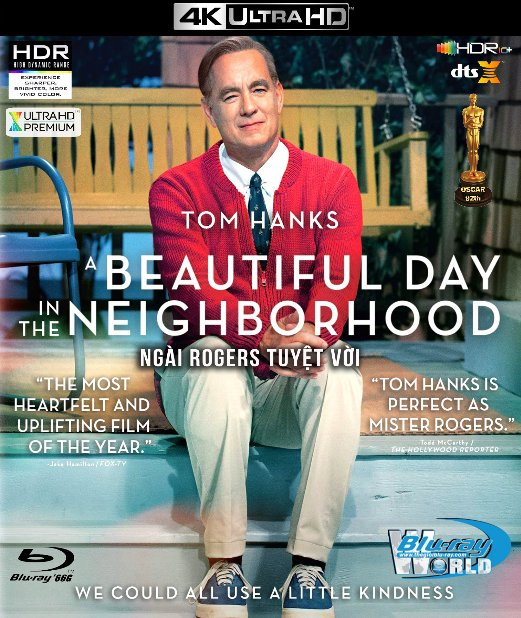 4KUHD-539. A Beautiful Day in the Neighborhood 2019 - Ngài Rogers Tuyệt Vời 4K-66G (DTS:X 7.1 - HDR 10+) OSCAR 92