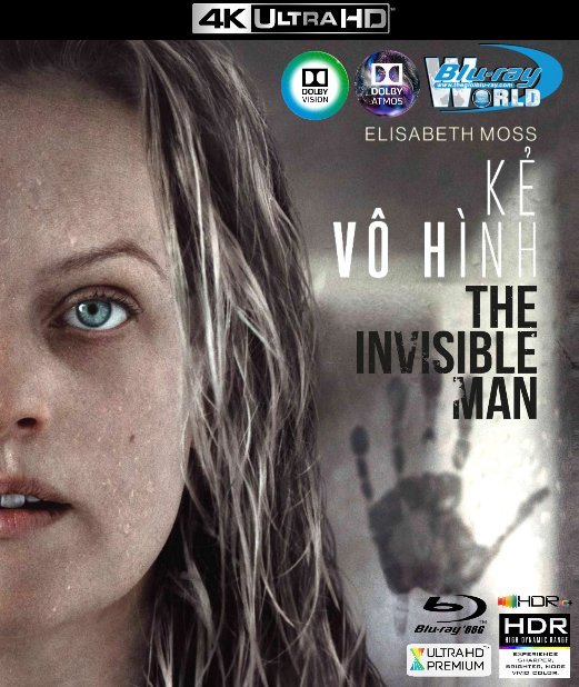 4KUHD-578. The Invisible Man 2020 - Kẻ Vô Hình 4K-66G (TRUE- HD 7.1 DOLBY ATMOS - DOLBY VISION)