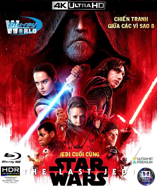 4KUHD-088.Star Wars VIII The Last Jedi 2017 - Star Wars 8: Jedi Cuối Cùng 4K-66G (TRUE- HD 7.1 DOLBY ATMOS)