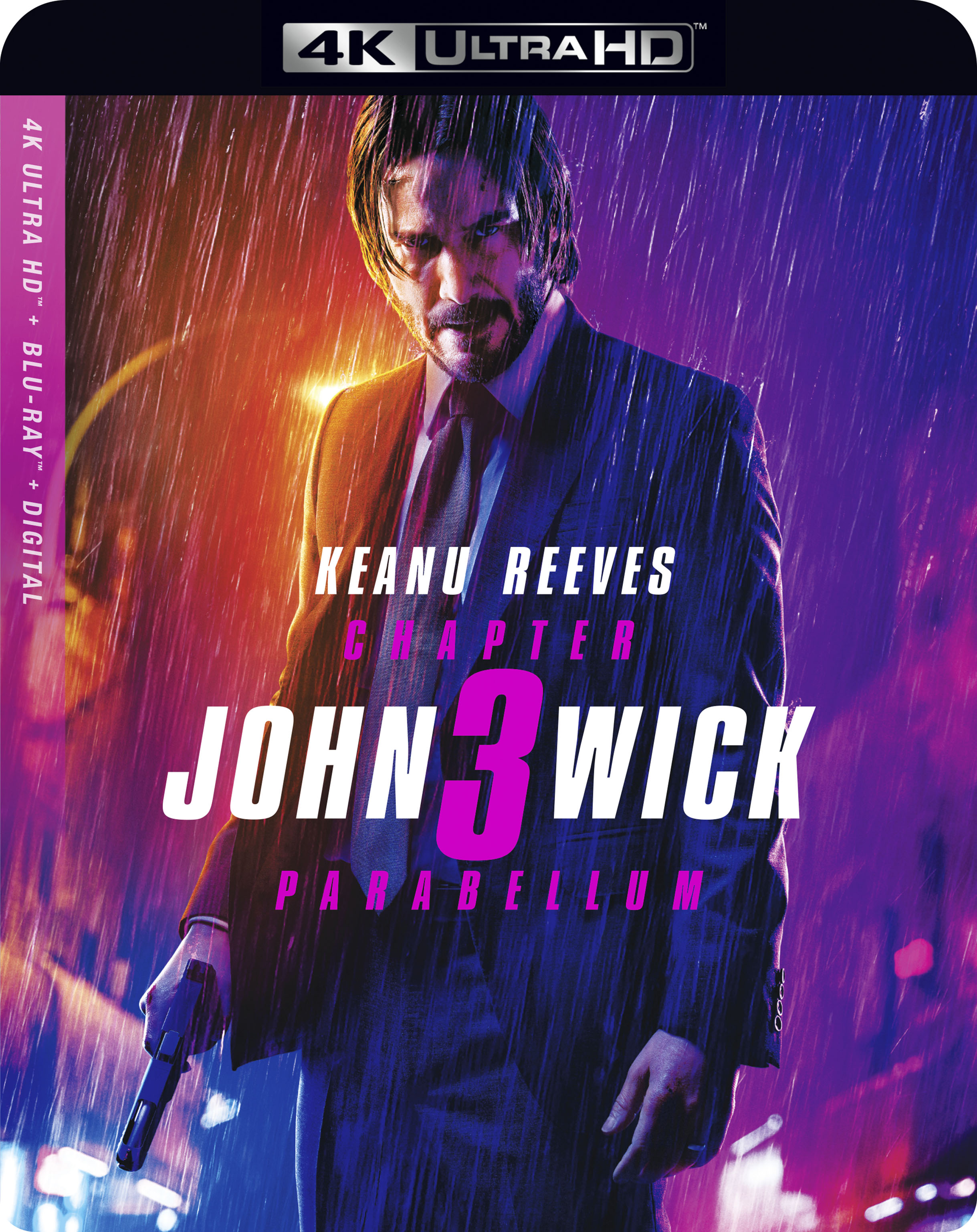 John Wick: Chapter 3 - Parabellum 2019 (4K ULTRA HD)