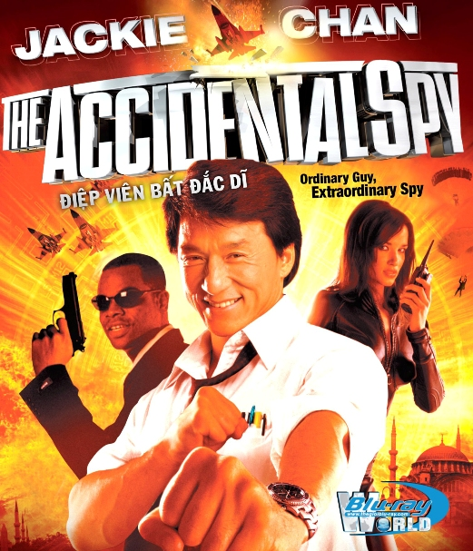 B2379. The Accidental Spy - ĐIỆP VIÊN BẤT ĐẮC DĨ 2D25G (DTS-HD MA 5.1)