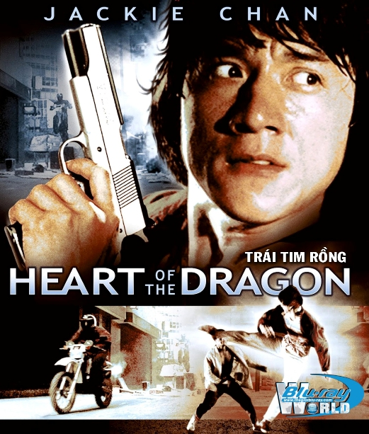 B2385. Heart Of Dragon 1985 - TRÁI TIM RỒNG 2D25G (DTS-HD MA 5.1)
