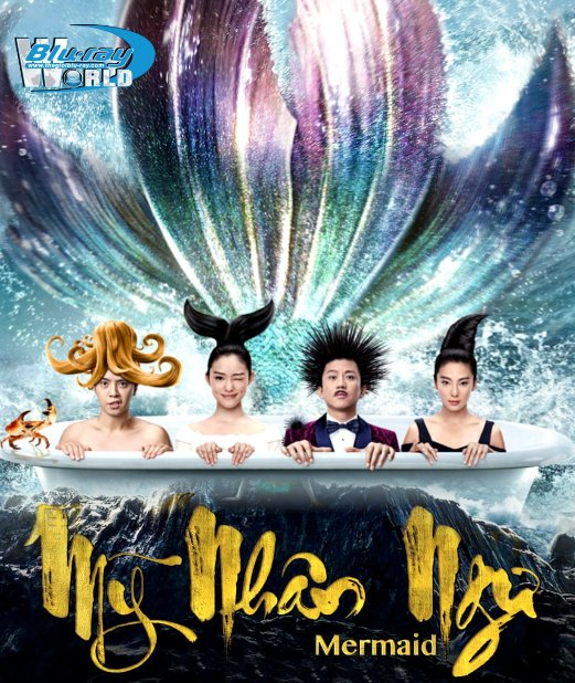 B2547. THE MERMAID 2016 - MỸ NHÂN NGƯ 2D25G (DOLBY TRUE- HD 5.1 )