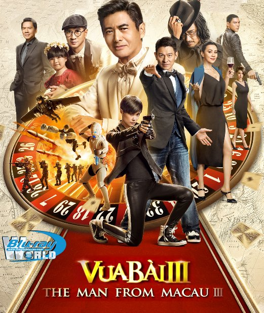 B2568. From Vegas to Macau III - Vua Bài 3 2D25G (TRUE- HD 7.1 DOLBY ATMOS)