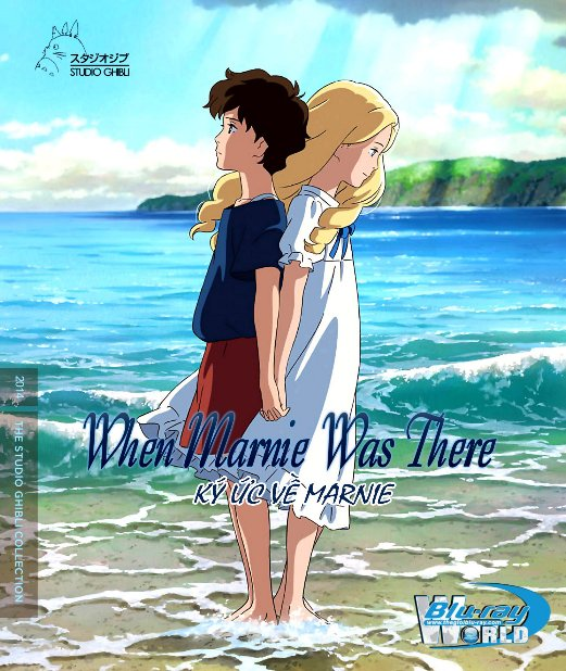 B3032.When Marnie Was There 2014  - Kỷ Ức Về Marnie 2D25G (DTS-HD 5.1) Studio Ghibli