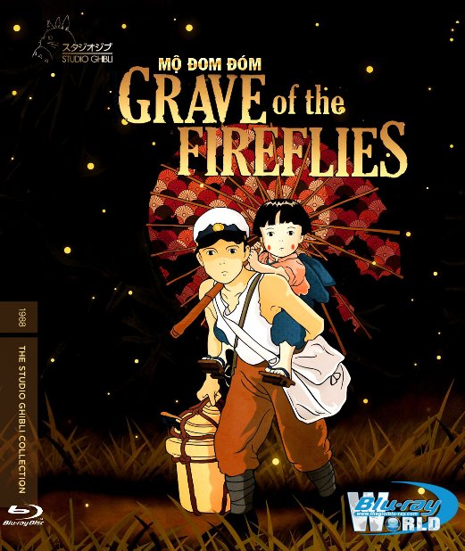 B3035.Grave of the Fireflies 1988 - Mộ Đom Đóm 2D25G (DTS-HD 5.1) Studio Ghibli
