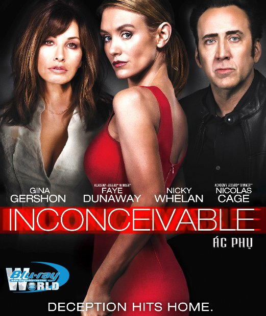 B3136.Inconceivable 2017 - ÁC PHỤ 2D25G (DTS-HD MA 5.1)