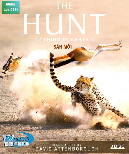 B3167.The Hunt 2016 - SĂN MỒI 2D25G (3 DISC) (DTS-HD MASTER 5.1)
