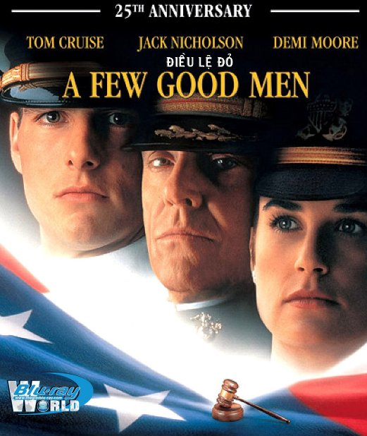 B3172.A Few Good Men - ĐIỀU LỆ ĐỎ 2D25G (DTS-HD MA 5.1)