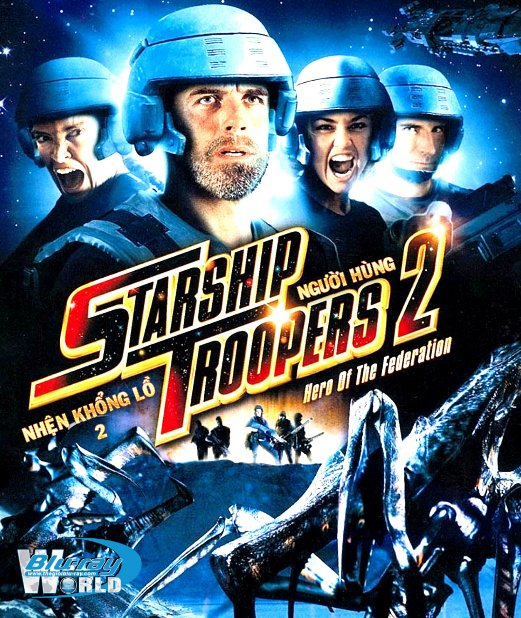 B3177.Starship Troopers 2 Hero of the Federation - NHỆN KHỔNG LỒ 2 - NGƯỚI HÙNG 2D25G (DTS-HD MA 5.1)