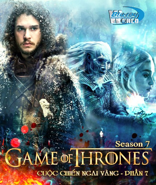 B3291.Game of Thrones Season 7 - Cuộc Chiến Ngai Vàng 7 2D25G - 3DISC (TRUE - HD 7.1 DOLBY ATMOS)
