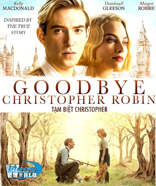 F1225.GOODBYE CHRISTOPHER ROBIN 2017 - TẠM BIỆT CHRISTOPHER 2D50G (DTS-HD MA 5.1)
