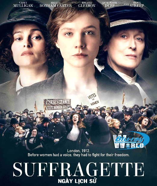 F1228.Suffragette 2016 - NGÀY LỊCH SỬ 2D50G (DTS-HD MA 5.1)