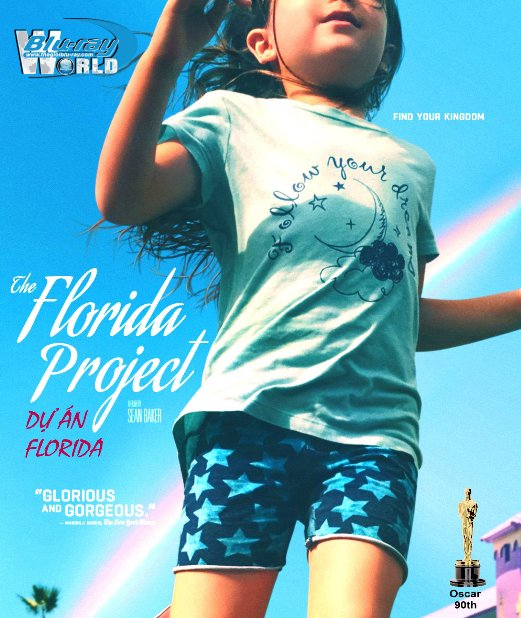 B3400. The Florida Project 2017 -  Dự Án Florida 2D25G (DTS-HD MA 5.1) OSCAR 90TH