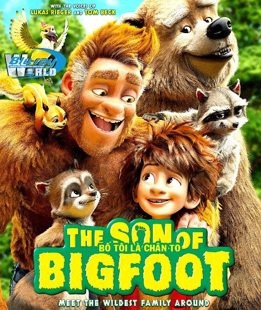 B3401.The Son of Bigfoot 2017 - Bố Tớ Là Chân To 2D25G (DTS-HD MA 5.1)