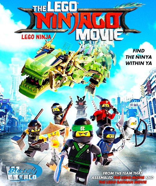 B3423.The LEGO Ninjago Movie 2017 - Câu Chuyện Lego: Ninja 2D25G (TRUE- HD 7.1 DOLBY ATMOS)
