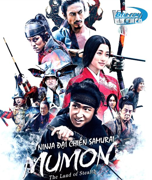 B3426.Mumon The Land of Stealth 2018 - NINJA ĐẠI CHIẾN SAMURAI 2D25G (DTS-HD MA 5.1)