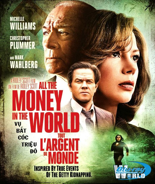 B3442. All the Money in the World 2018  - VỤ BẮT CÓC TRIỆU ĐÔ 2D25G (DTS-HD MA 5.1)