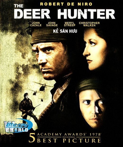 B3488. The Deer Hunter -  KẺ SĂN HƯU 2D25G (DTS-HD MA 5.1)