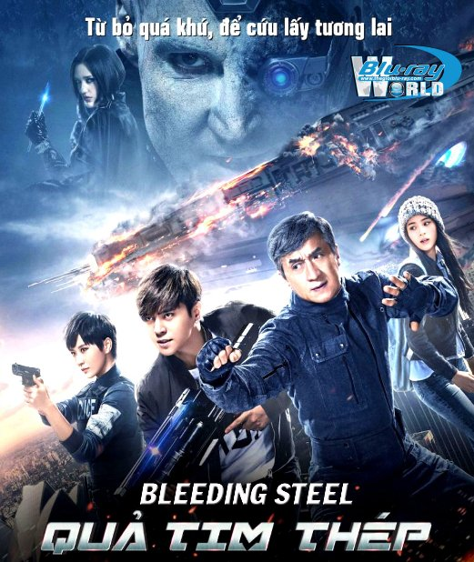 B3493. Bleeding Steel 2018 -  Quả Tim Thép 2D25G (DTS-HD MA 5.1)