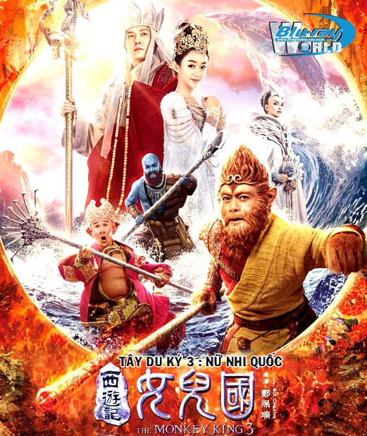 B3517.  The Monkey King 3: Kingdom of Women 2018 -  Tây Du Ký 3: Nữ Nhi Quốc 2D25G (TRUE - HD 7.1 DOLBY ATMOS)