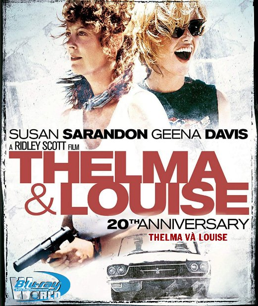 F1410. Thelma and Louise - Thelma Và Louise 2D50G (DTS-HD MA 5.1)