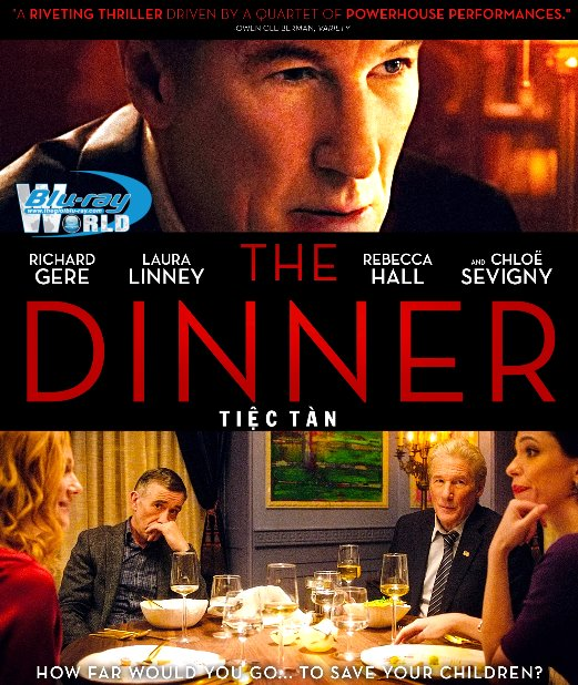 F1463. The Dinner 2018 - TIỆC TÀN 2D50G (DTS-HD MA 5.1)