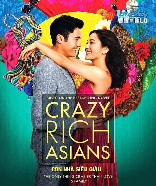 B3759. Crazy White Asians 2018 - Con Nhà Siêu Giàu 2D25G (DTS-HD MA 5.1)