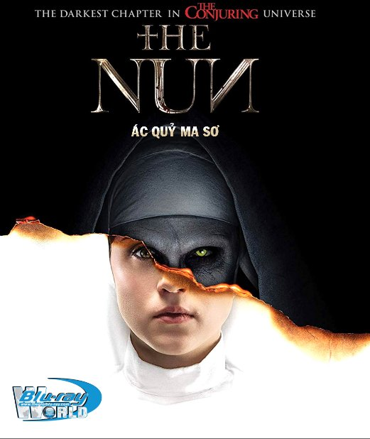 B3771. The Nun 2018 - Ác Quỷ Ma Sơ 2D25G (TRUE- HD 7.1 DOLBY ATMOS)