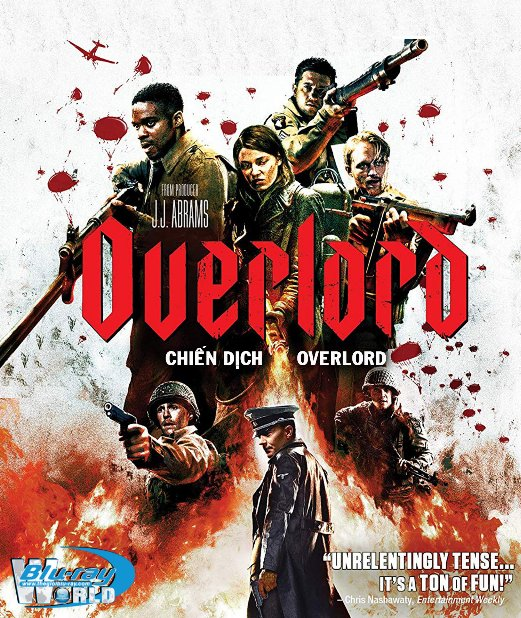 B3867. Overlord 2018 - Chiến Dịch Overlord 2D25G (TRUE- HD 7.1 DOLBY ATMOS)