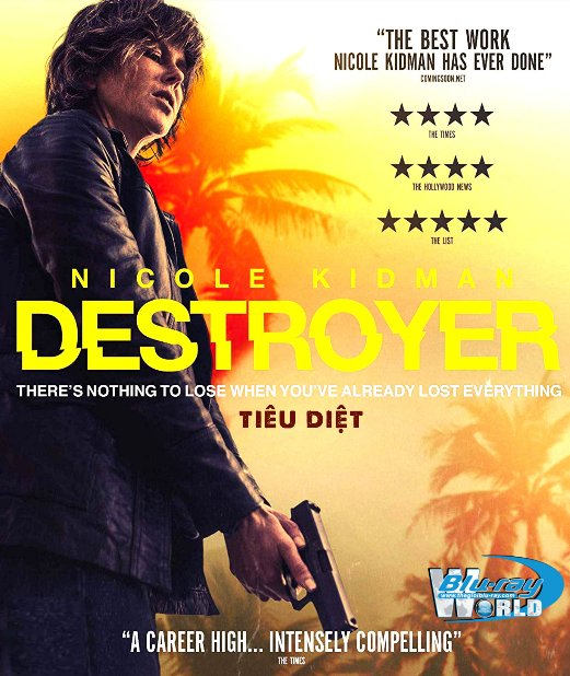 B4011. Destroyer 2019 - Tiêu Diệt 2D25G (DTS-HD MA 5.1)