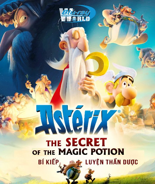 B4049. Asterix The Secret of the Magic Potion 2019 - Bí Kíp Luyện Thần Dược 2D25G (DTS-HD MA 5.1)