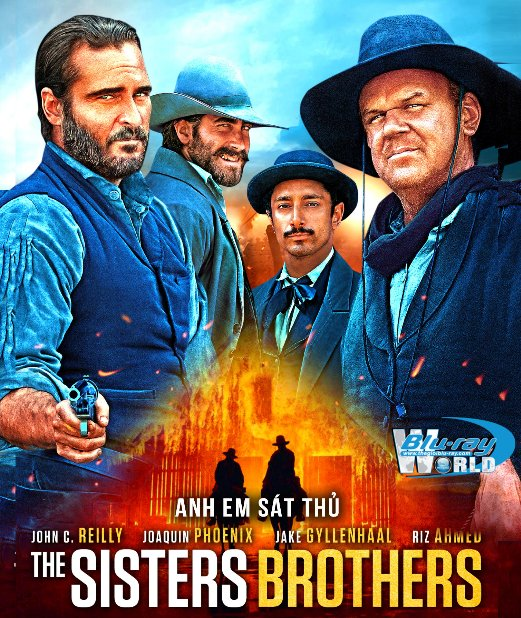 B4115. The Sisters Brothers 2019 - Anh Em Sát Thủ 2D25G (DTS-HD MA 5.1)